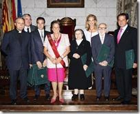 La alcaldesa de Valencia entrega a Ponce el título de Hijo Adoptivo