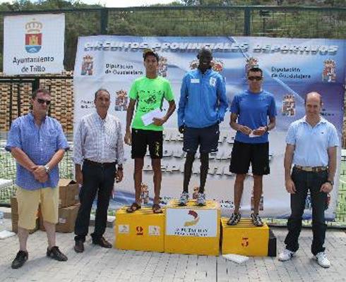 Gerardo Sanz y Henar Fernández ganan el IIII Circuito Provincial de Carreras Populares